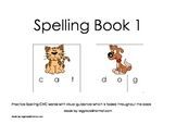 Spelling Book 1 (Spelling, Autism, Early Learning, Special Needs)
