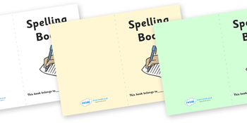Spelling Book Cover