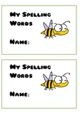 Spelling Booklet