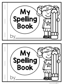 Spelling Booklet Editable | Distance Learning