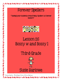 Spelling - Bossy w and Bossy l - 3rd Grade