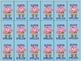 Spelling Brag Tags Polka Dot Monster Theme