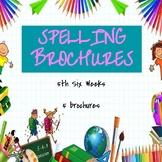 Spelling Brochures 5th Six Weeks