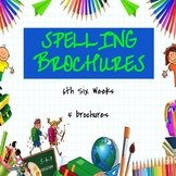 Spelling Brochures 6th Six Weeks