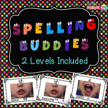 Spelling Buddies: Phoneme-Grapheme Posters with Speech Photo Model