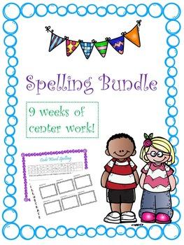 Spelling Bundle -- 9 Weeks