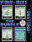 Spelling Bundle - Spelling and Word Wall Words - 3rd Grade (Grade 3)