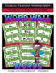 Spelling Bundle - Spelling and Word Wall Words - 5th Grade (Grade 5)