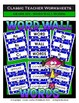 Spelling Bundle - Spelling and Word Wall Words - 6th Grade (Grade 6)