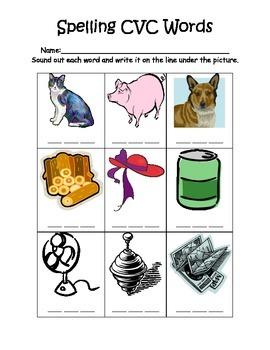Spelling CVC Words