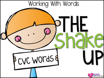 The CVC Shake Up {A Working With Words Center}