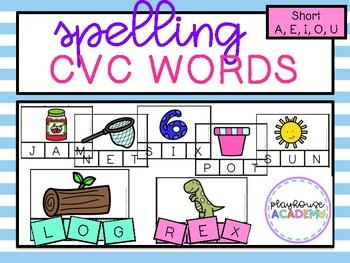 Spelling CVC Words (Short Vowels)