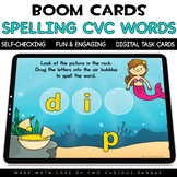 Spelling CVC Words for Boom Cards™