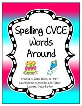 Spelling CVCE Words Around the Room