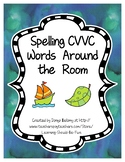 Spelling CVVC Words Around the Room