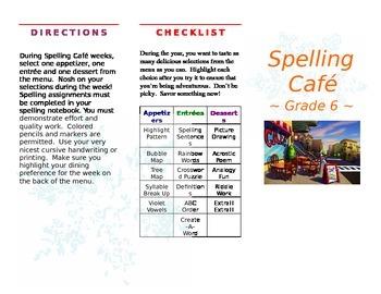 Spelling Cafe