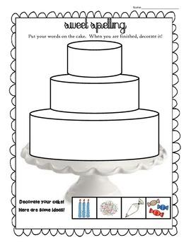 Spelling Cake