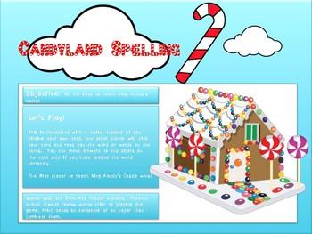 Spelling Candyland 1st Grade