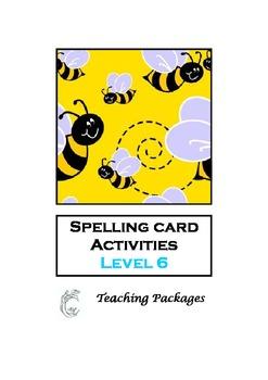 Spelling Card Activities Level 6