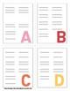 Spelling Keys: Binder Ring Cards
