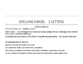 Spelling Cards Game
