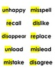 Spelling Cards Unit 3, Lessons 1-5