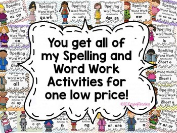 Phonics Worksheets for the Whole Year