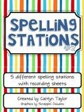 Spelling Center Printables Packet #2