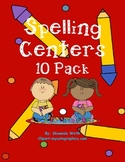 Spelling Centers 10pack-Wirth It