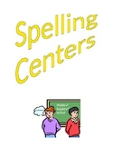 Spelling Centers / Papers