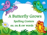 Journeys A Butterfly Grows Flipchart Spelling Centers for
