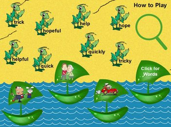 Journeys A Boat Disappears Flipchart Spelling Centers adding ly, y, and ful