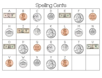 Spelling Cents