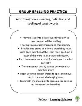 Spelling Challenge