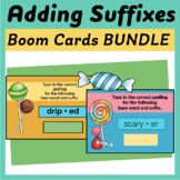 Spelling Changes When Adding Suffixes - Boom Cards Set