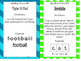 Spelling Choice Activity Cards