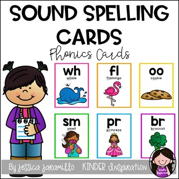 Spelling Chunk Cards by Jessica Jaramillo