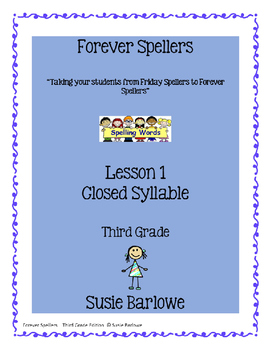 Spelling - Closed Syllable - All Vowel Sounds - 3rd Grade
