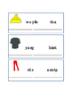 Spelling Clothing Word Scramble Colors Names Reading Writing Worksheets 4pages