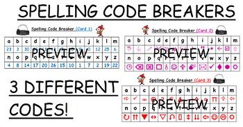 Spelling Code Breakers activity #ausbts18