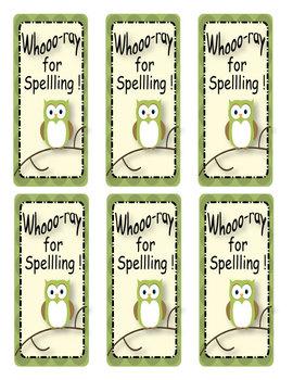 Spelling - Common Words