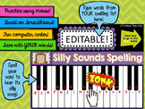 Spelling Computer Center - Silly Sounds Spelling