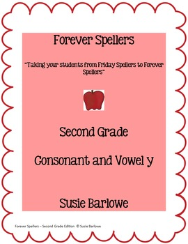 Spelling - Consonant and Vowel y - 2nd grade