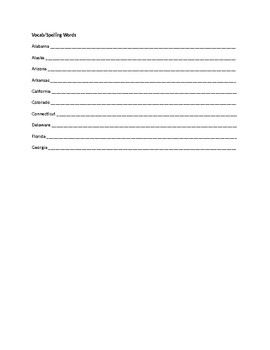 Spelling Contract 2