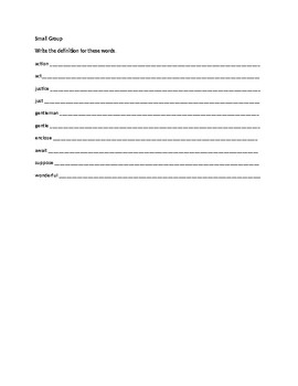 Spelling Contract 4
