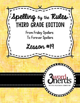 Spelling - Contractions - Third Grade
