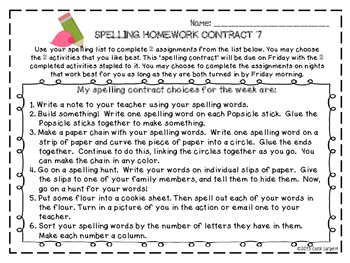 Spelling Contracts