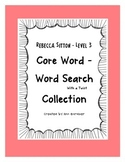 Spelling - Core Word/Word Search Collection Level 3 - Rebe