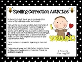 Spelling Correction Activities