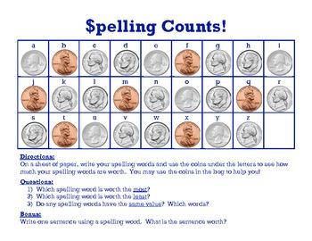 Spelling Counts